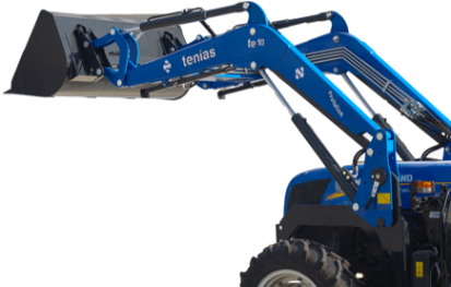 Photo of a blue Tenías loader